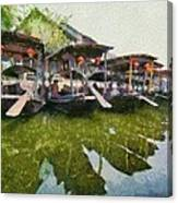 Xi Tang Town Canvas Print