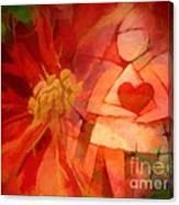Xmas Angel Canvas Print