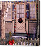Xmas House 1 Canvas Print