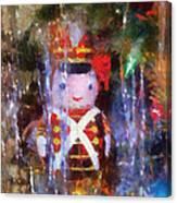 Xmas Soldier Ornament Photo Art 02 Canvas Print