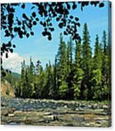 Yaak River Canvas Print