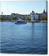 Yacht And Beach Club Wdw Canvas Print