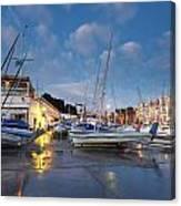 Yacht Club Canvas Print