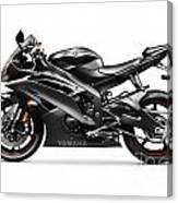 Yamaha R6 Supersport Motorcycle Canvas Print