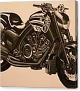 Yamaha V-max Canvas Print