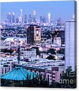 Yamashiro View Of La Canvas Print