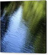 Yamhill River Abstract 24849 Canvas Print