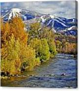 Yampa River Fall Canvas Print