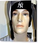 Yankee Fan Canvas Print