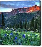 Yankee Sunrise Canvas Print