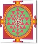 Yantra Canvas Print