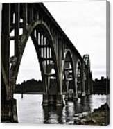Yaquina Bay Bridge - Series D Canvas Print