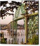 Yaquina Bay Bridge Morning Light Canvas Print