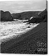 Yaquina Head In Bw Canvas Print