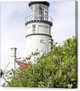 Haceta Head Lighthouse 7 Canvas Print