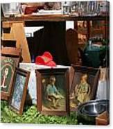 Yard Sale Canvas Print
