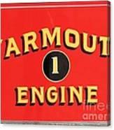 Yarmouth Engine 1 Canvas Print