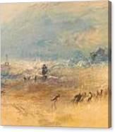 Yarmouth Sands Canvas Print