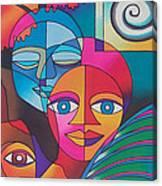 Yau Ni Viti I Canvas Print