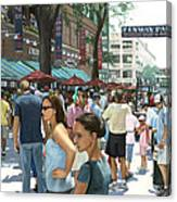 Yawkey Way Canvas Print