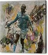 Yaya Toure Canvas Print