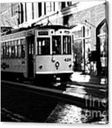 Ybor Street Car Canvas Print