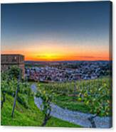 Yburg Sunset Canvas Print