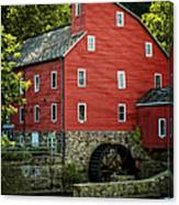 Ye Old Red Mill Canvas Print