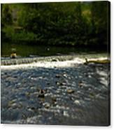 Ye Olde River Wye Canvas Print