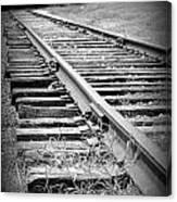 Ye Olde Tracks Canvas Print
