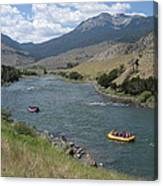 Yellowstone River  Canvas Print