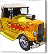 Yellow 1928 Hotrod Pickup Truck  Canvas Print