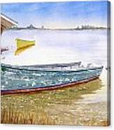 Yellow Boat II Canvas Print