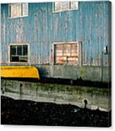 Yellow Boat Canvas Print