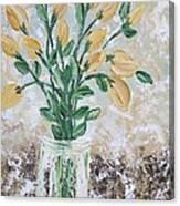 Yellow Bouquet Canvas Print