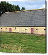 Yellow Brick Barn Canvas Print