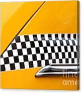 Yellow Cab - 4 Canvas Print