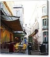 Yellow Cafe Arles France Canvas Print