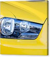 Yellow Charger 1520 Canvas Print