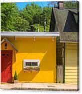 Yellow Cottage Canvas Print