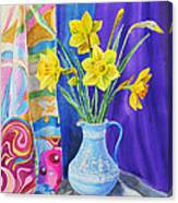 Yellow Daffodils Canvas Print