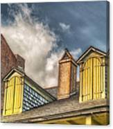 Yellow Dormers Canvas Print
