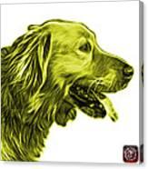 Yellow Golden Retriever - 4047 Fs Canvas Print