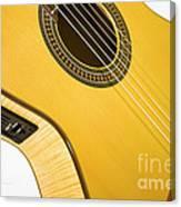 Yellow Guitar Canvas Print