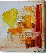 Yellow Love 3 Canvas Print