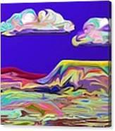 Yellow Mesa Canvas Print