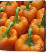 Yellow Peppers Canvas Print
