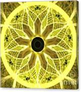 Yellow Rays Canvas Print
