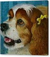 Yellow Ribbons Canvas Print