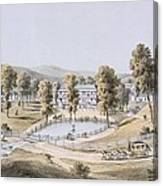 Yellow Sulphur Springs, Montgomery Canvas Print